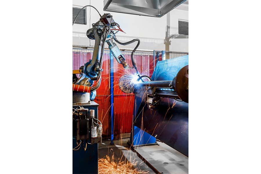 Cylinder Welding Robot