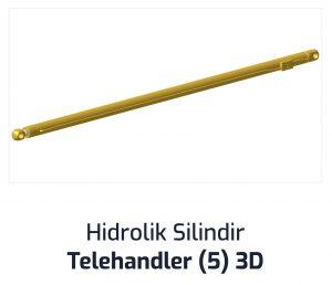 Hidrolik Silindir Telehandler (5) 3D