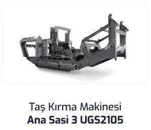 Tas Kirma Makinesi Ana Sasi 3 UGS2105
